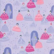 Moda - Once Upon a Time - Stacey Iest Hsu - 6238 - Grand Ball on Lilac - 20593 17 - Cotton Fabric